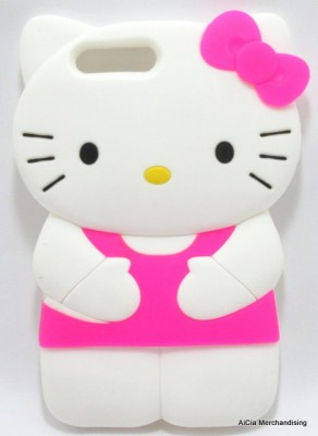 separation shoes 01a49 88593 Apple iPhone 7 Plus Hello Kitty 3D Silicone Case – Pink
