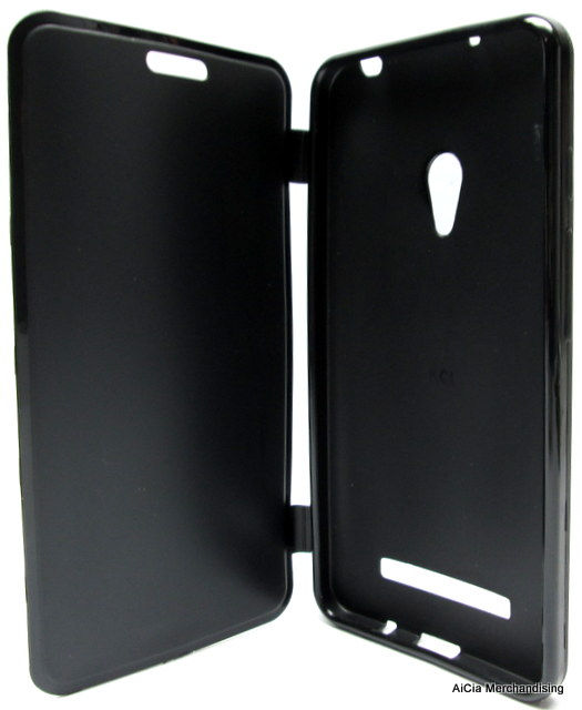 sale retailer c1d56 0488d Asus Zenfone 5 Rubberized Case with Flip Cover – Black