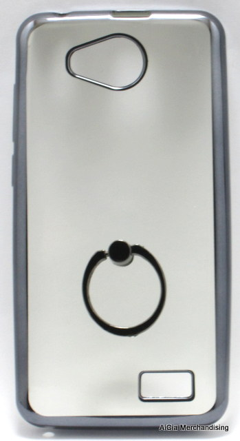 timeless design a45d9 0bb4e Cherry Mobile Flare S5 Mini Clear Softjacket with Ring Holder – Black