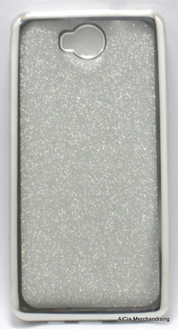 buy popular d6fc2 c55ea Cherry Mobile Flare S5 Plus Glittery Clear Softjacket Case – Silver