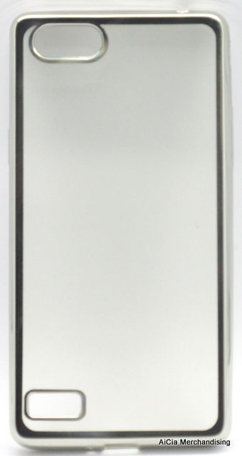 Oppo A33 or Neo 7 Clear Softjacket Case - Silver