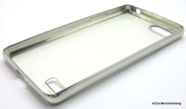 ... Oppo A33 or Neo 7 Clear Softjacket Case – Silver ...