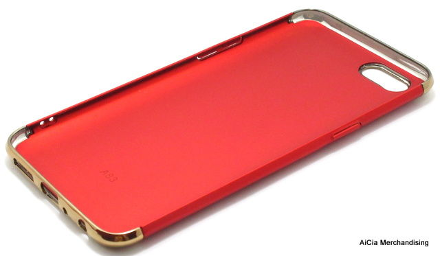 Oppo A83 Matted Finish Hard Case – Red