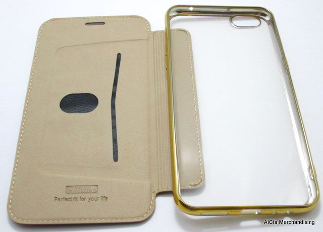promo code be665 89097 Oppo F3 Plus and R9s Plus Alibaba Clear Back Leather Case – Gold