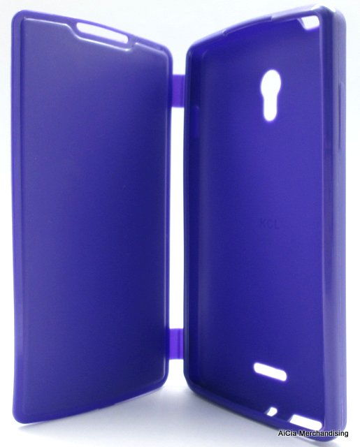 buy online ce8b1 5adb2 Oppo Joy R1001 Rubberized Case with Flip Cover – Violet