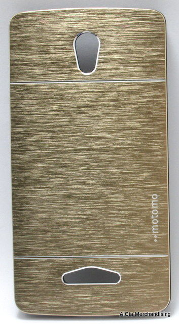 Oppo Yoyo R2001 Motomo Metallic Finish Hard Case - Gold