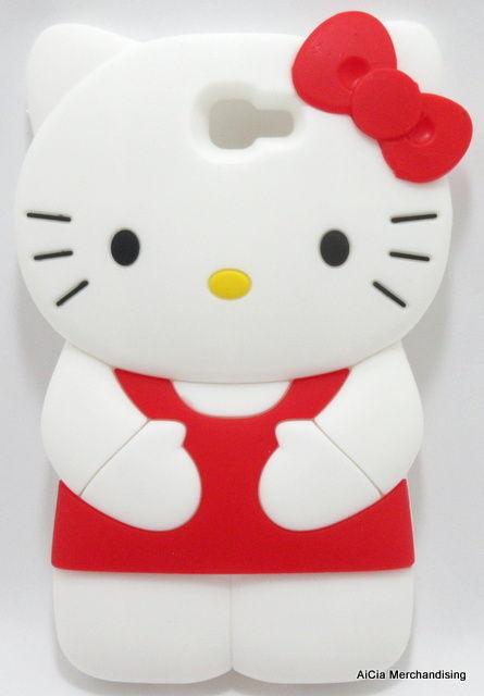 outlet store 59667 4bfb2 Samsung Galaxy J7 Prime Hello Kitty 3D Silicone Case – Red