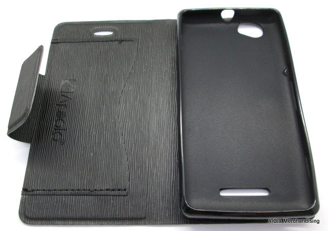 best website 7dc2c f0d08 Sony Xperia M C1905 Grooved Wallet Leather Case – Black