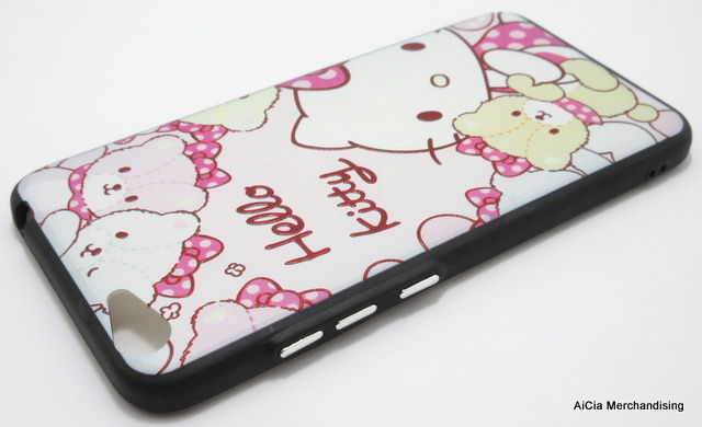Vivo Y67 or Vivo V5 Tempered and Hard Case – Hello Kitty